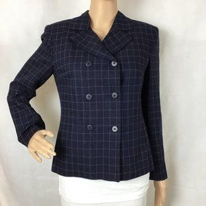 Jones New York Petite Blazer Blue Size 6P